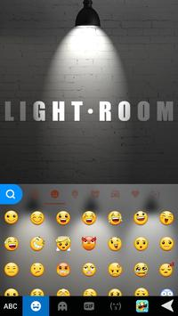 LightRoom Emoji iKeyboard screenshot 1