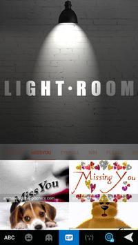 LightRoom Emoji iKeyboard screenshot 2