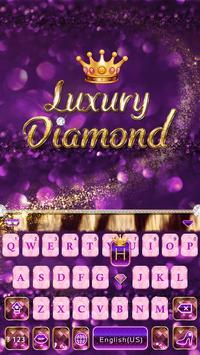 Luxury Diamond Emoji Keyboard screenshot 1