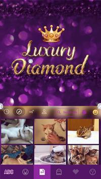 Luxury Diamond Emoji Keyboard screenshot 3