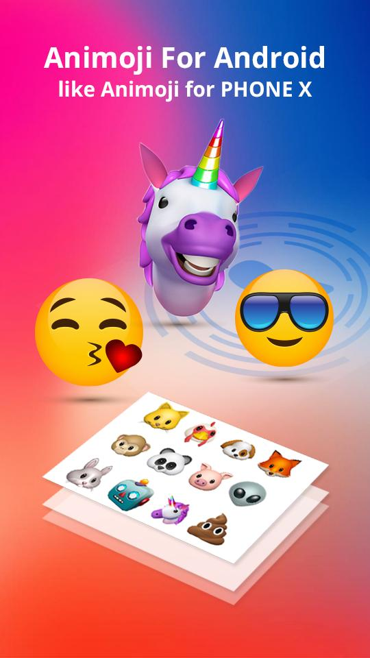 Animoji For iOS 11 And Phone X 3D Emoji for Android - APK
