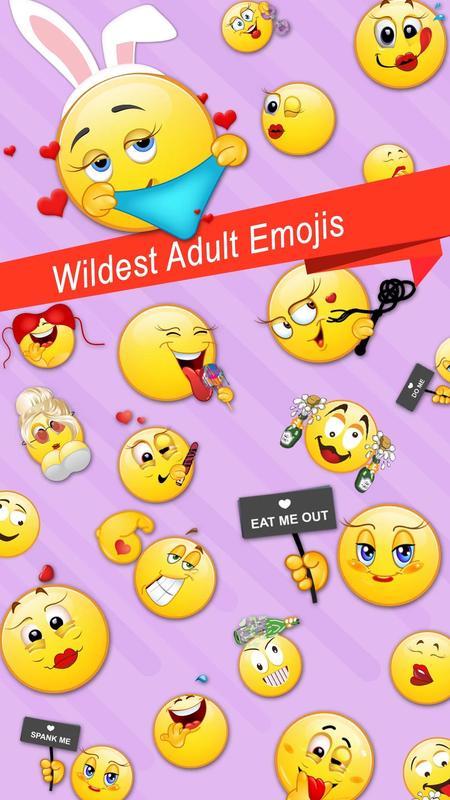 Adult Emoji Emoticons Icons الملصق ...