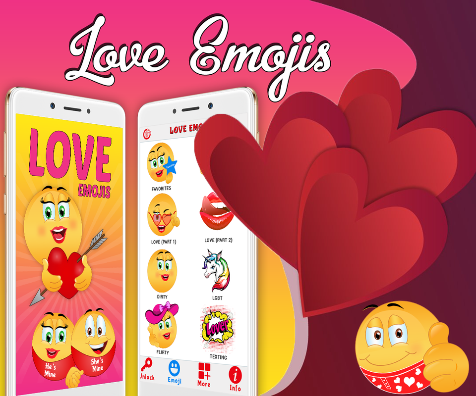 Love Emoji – Dirty Icons and Adult Stickers cho Android