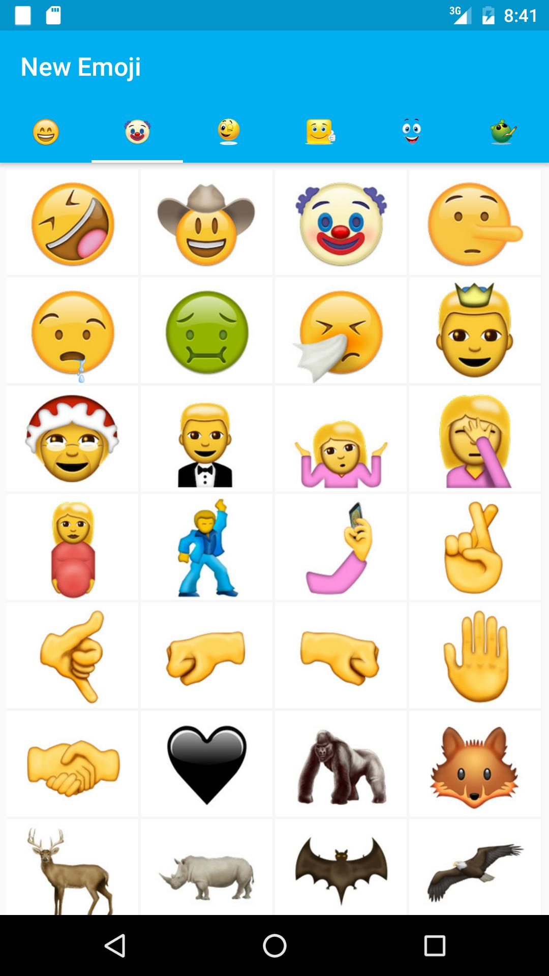 New emoji 2016 free android poster