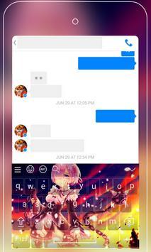 Anime Keyboard Emoji - Re:Zero Keyboard Wallpapers screenshot 3