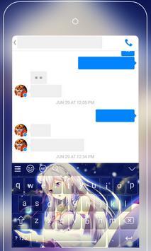 Anime Keyboard Emoji - Re:Zero Keyboard Wallpapers screenshot 2