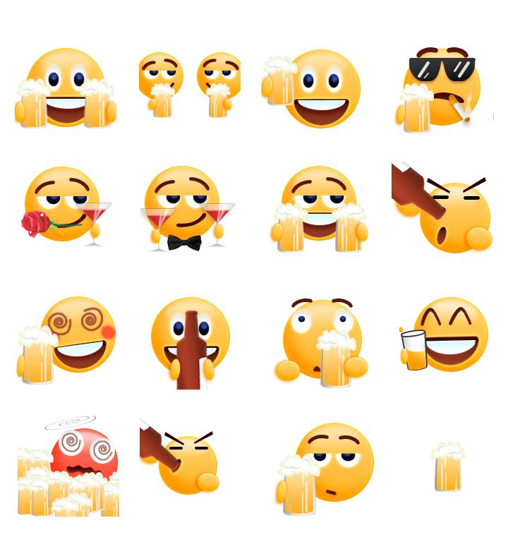 Cheers 2018 Gif Emoji Sticker for Android - APK Download