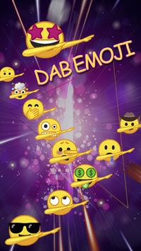 Dab Emoji Sticker – Emoji Keyboard poster