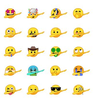 Dab Emoji Sticker – Emoji Keyboard screenshot 8