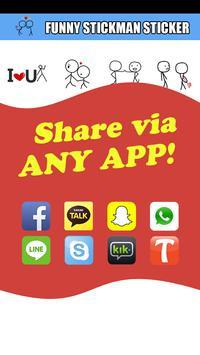 Stick Texting Free Emoji Stick poster