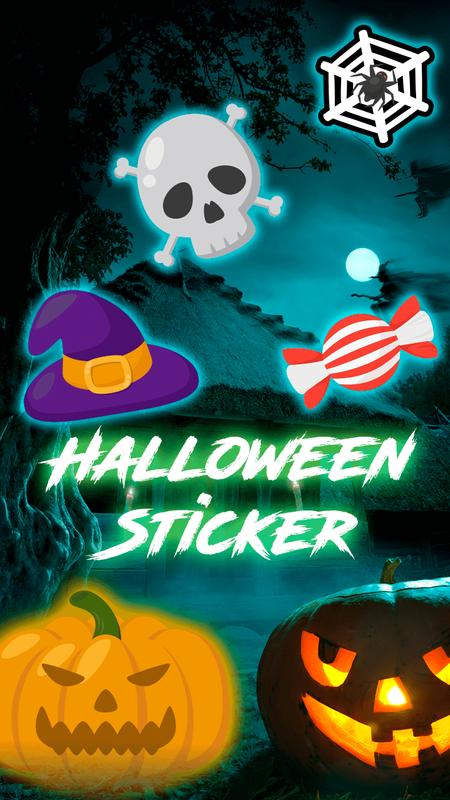 Halloween Stickers🎃 poster Halloween Stickers🎃 apk screenshot ...