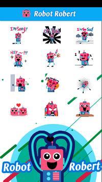 Mr Robot Sticker Free GIF apk screenshot