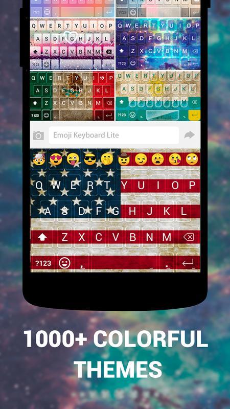 Teclado emoji android
