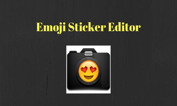 Emoji Sticker Editor poster