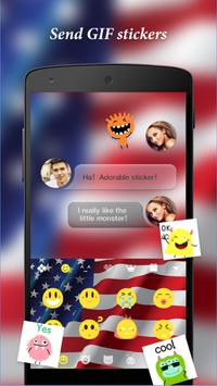 AmericanKeyboard apk screenshot