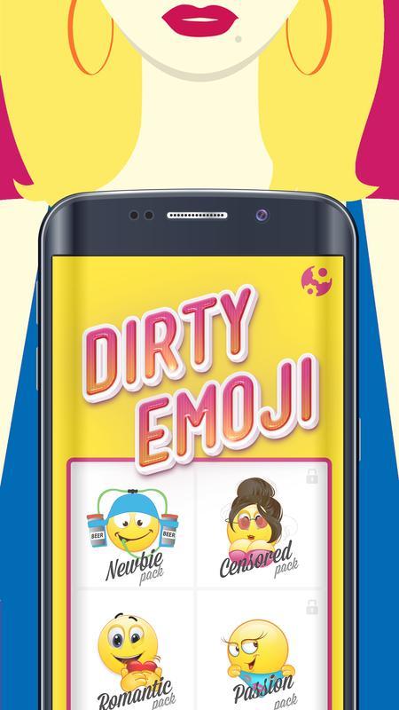 Dirty Emoji Romance Symbols Apk