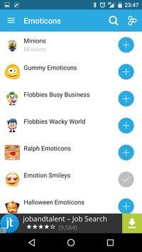 Emoticons apk screenshot