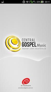 Central Gospel Music poster