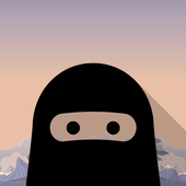 Shadow Ninja: Man on stick icon