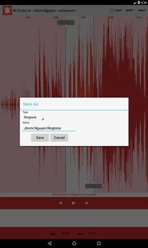 Ringtone creator apk screenshot