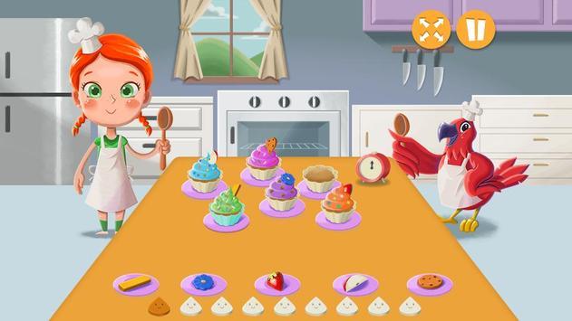 Emma and Polly Cupcake Cooking screenshot 5