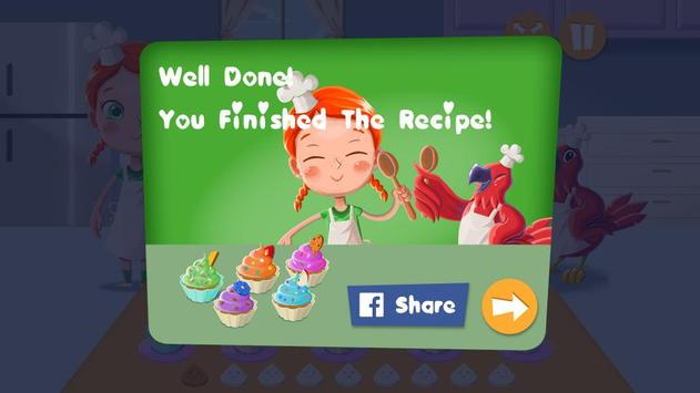Emma and Polly Cupcake Cooking poster