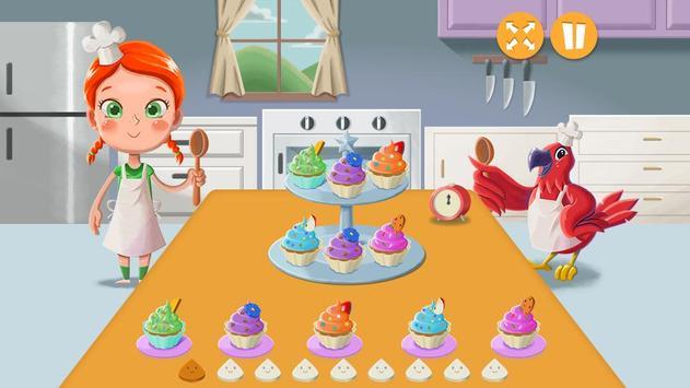 Emma and Polly Cupcake Cooking screenshot 1
