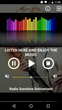 Radio Sunshine Switzerland screenshot 1