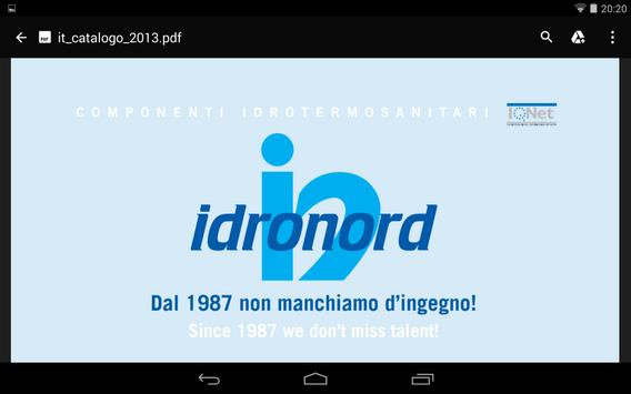 Idronord apk screenshot