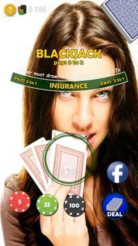 Crazy Blackjack Game poster