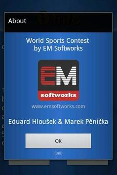 World Sports Quiz Demo apk screenshot