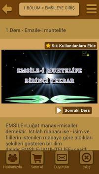 Emsile dersleri görsel apk screenshot