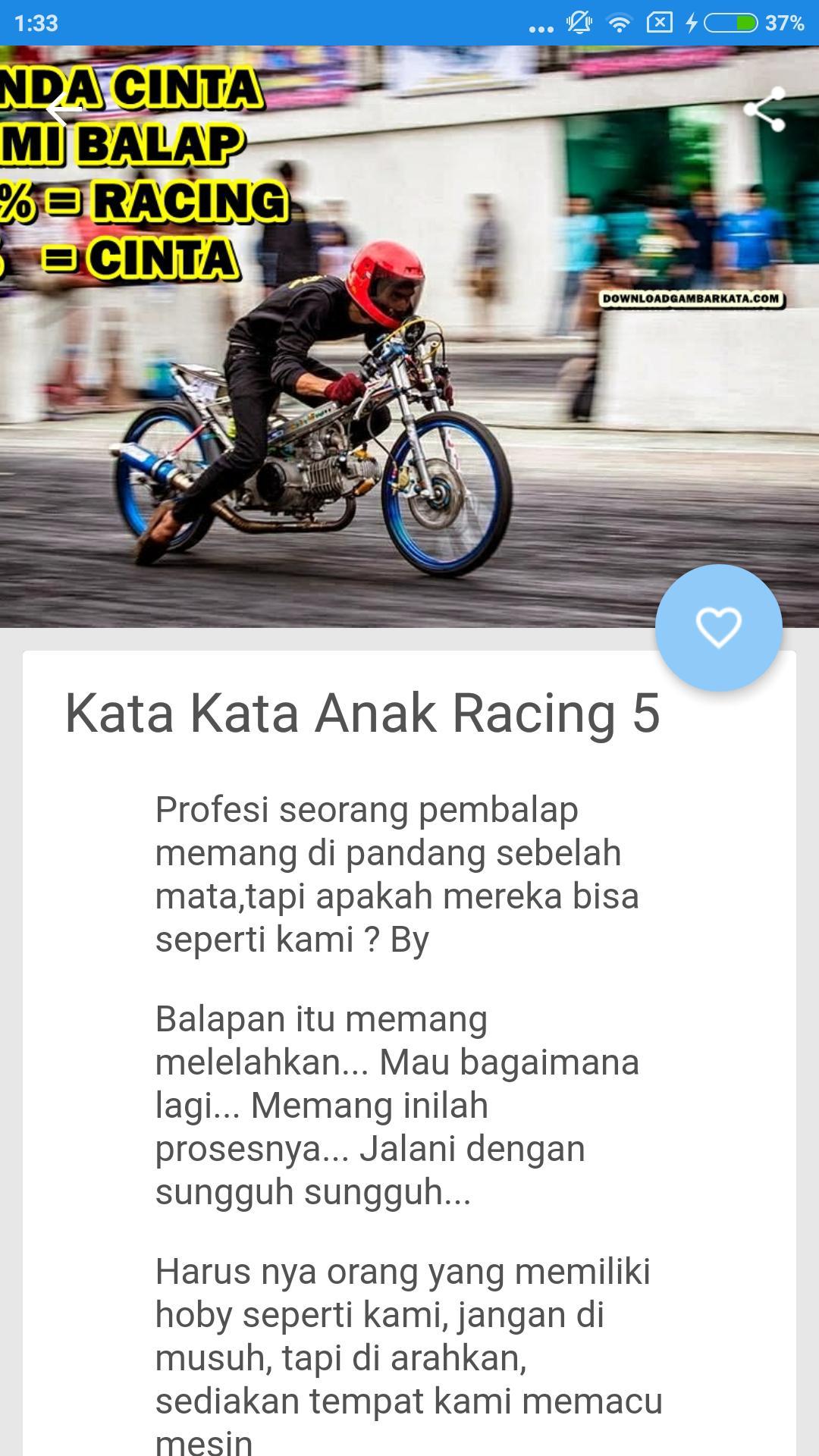 Kata Kata Anak Racing For Android Apk Download