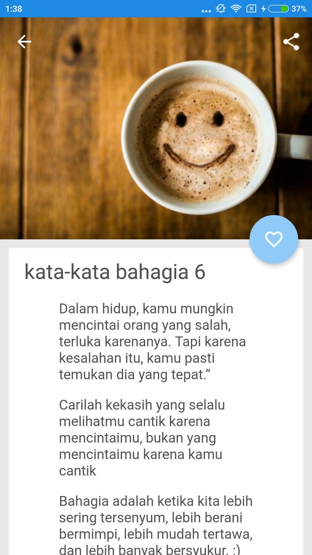 Kata Kata Bahagia Fur Android Apk Herunterladen