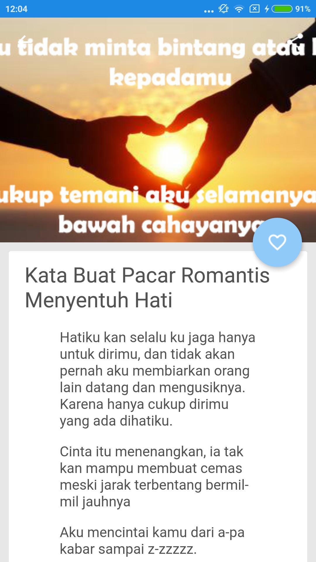 Kata Kata Cinta Romantis Für Android Apk Herunterladen