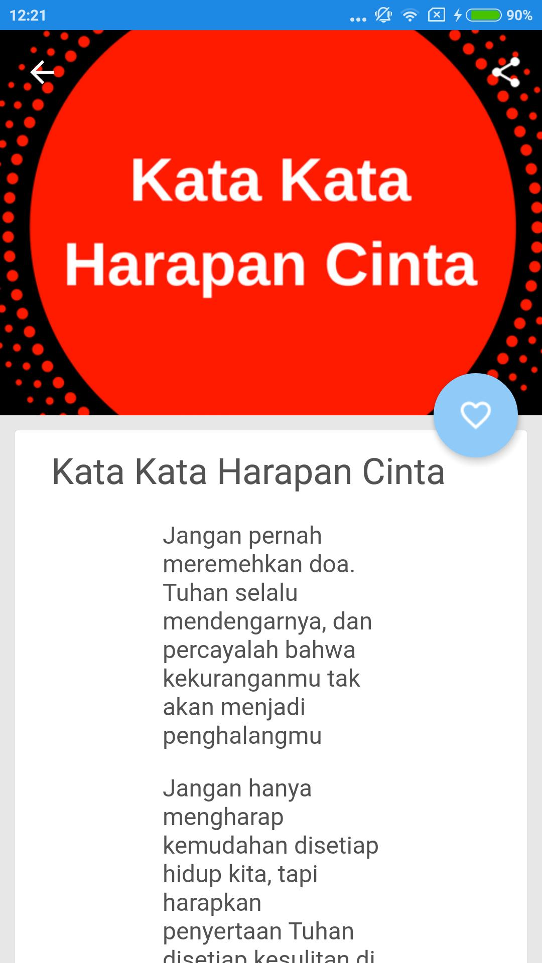 Kata Kata Harapan Doa For Android Apk Download