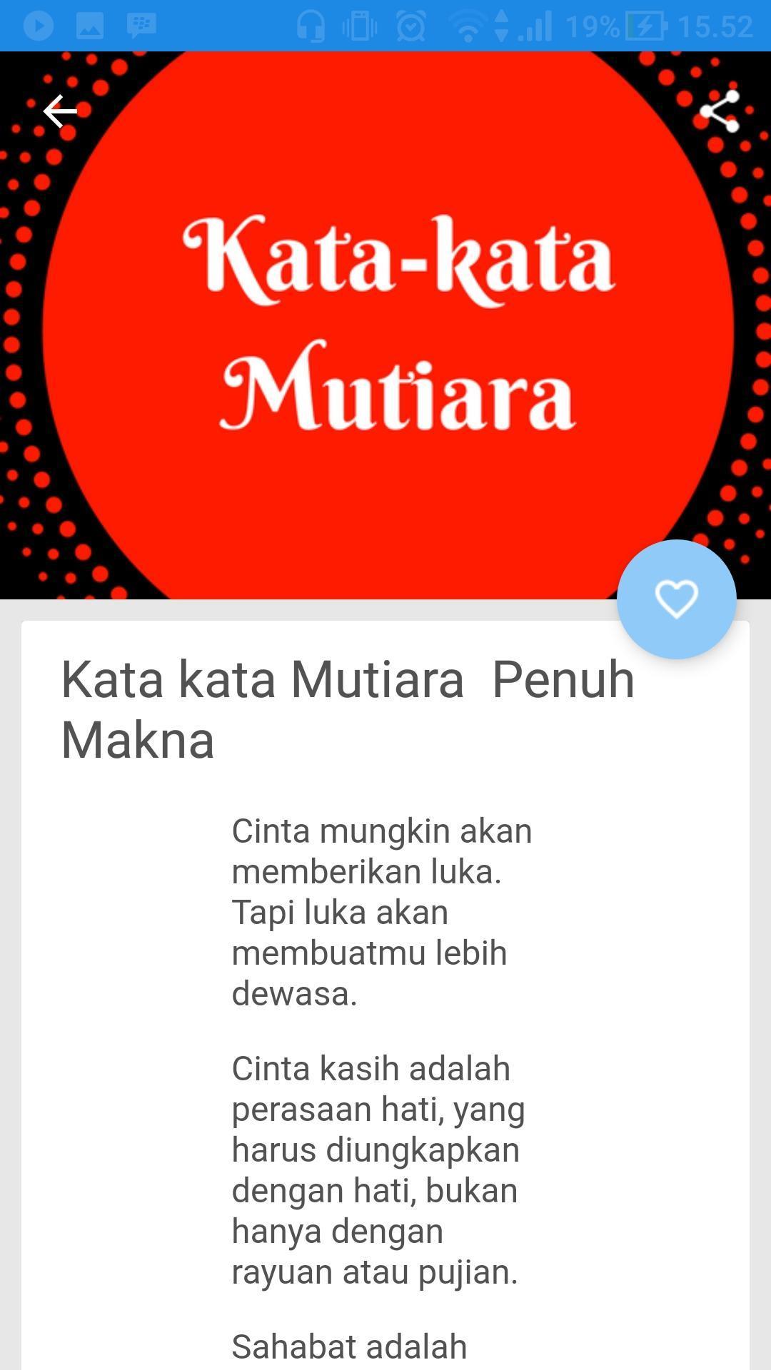 Kata Kata Mutiara For Android Apk Download
