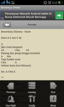 Lirik Lagu & Chord Noah screenshot 1