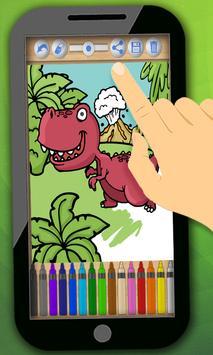 Dinosaurs to paint screenshot 1