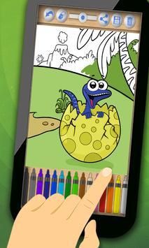 Dinosaurs to paint screenshot 4
