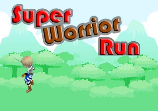 Super Worrior Run poster