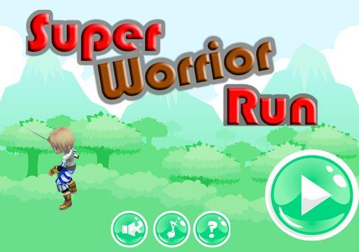 Super Worrior Run apk screenshot