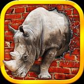 Raging Rhino Simulator icon