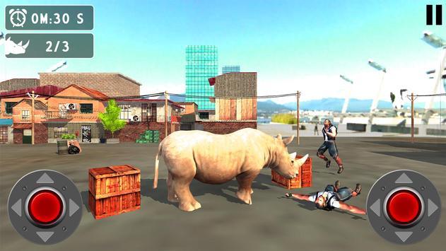 Raging Rhino Simulator poster