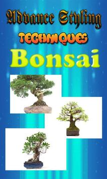 Advanced Styling Techniques of Bonsai poster