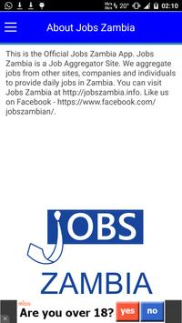 Jobs Zambia apk screenshot