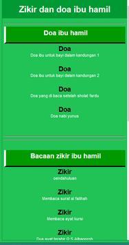 Zikir Dan Doa Ibu Hamil New screenshot 1