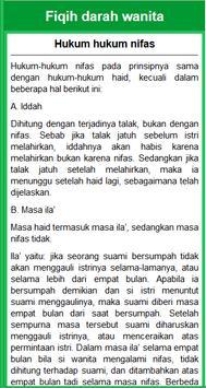 Fiqih Islam Wanita Imam Syafii apk screenshot