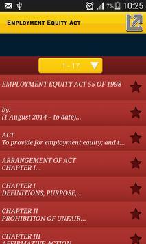 Employment Equity Act apk screenshot