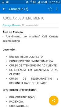 EMPREGO MANAUS screenshot 4